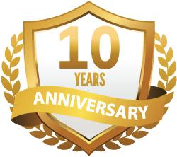 10 Year Anniversary – Secretary of the Board